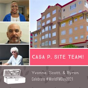 """Think of it like a tripod..."" Casa P. staff on teamwork."
