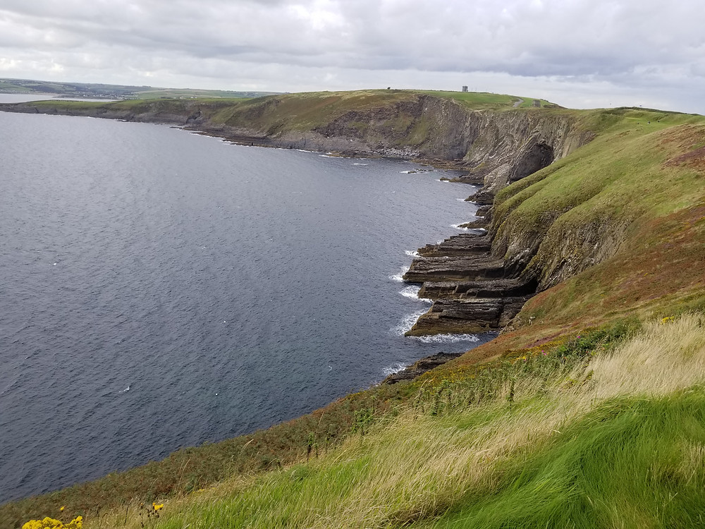 The views from the Old Head course