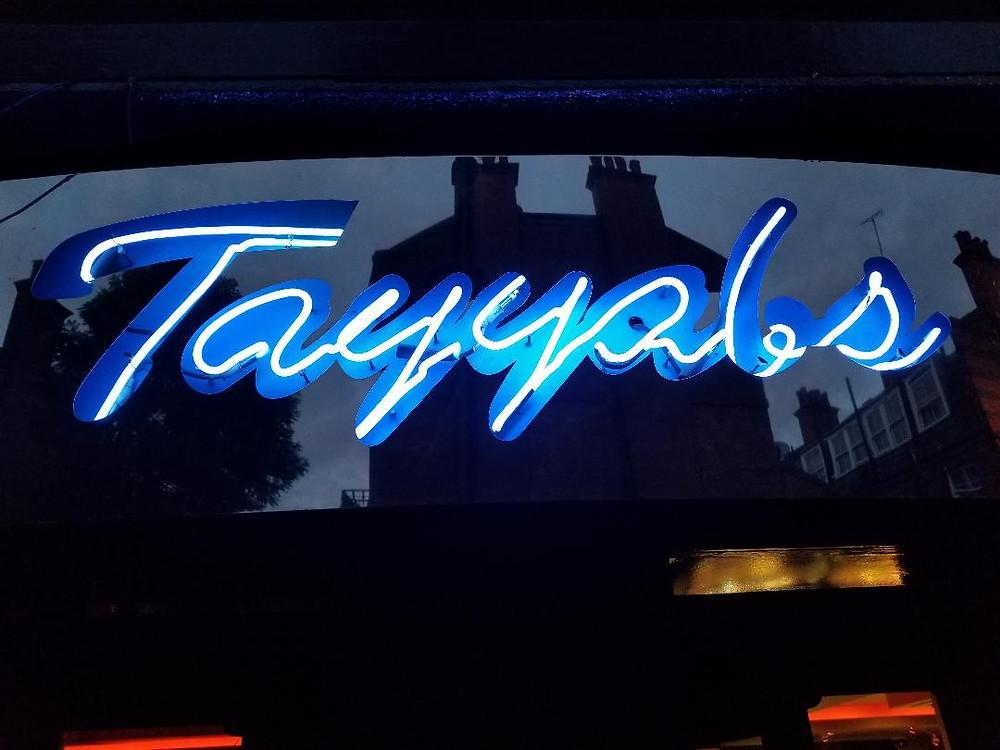 Tayyab's. Great Indian food in London