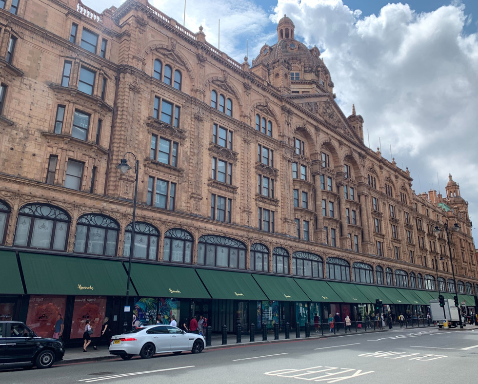 Shopping at Harrods. Tea at the Montague. A night at the theater. How very British.