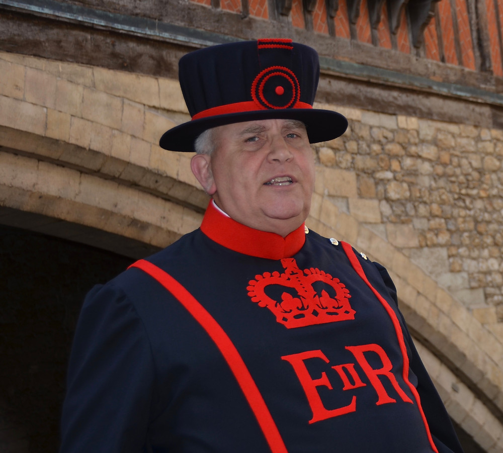 Whispering Dave, the Yeoman Warder