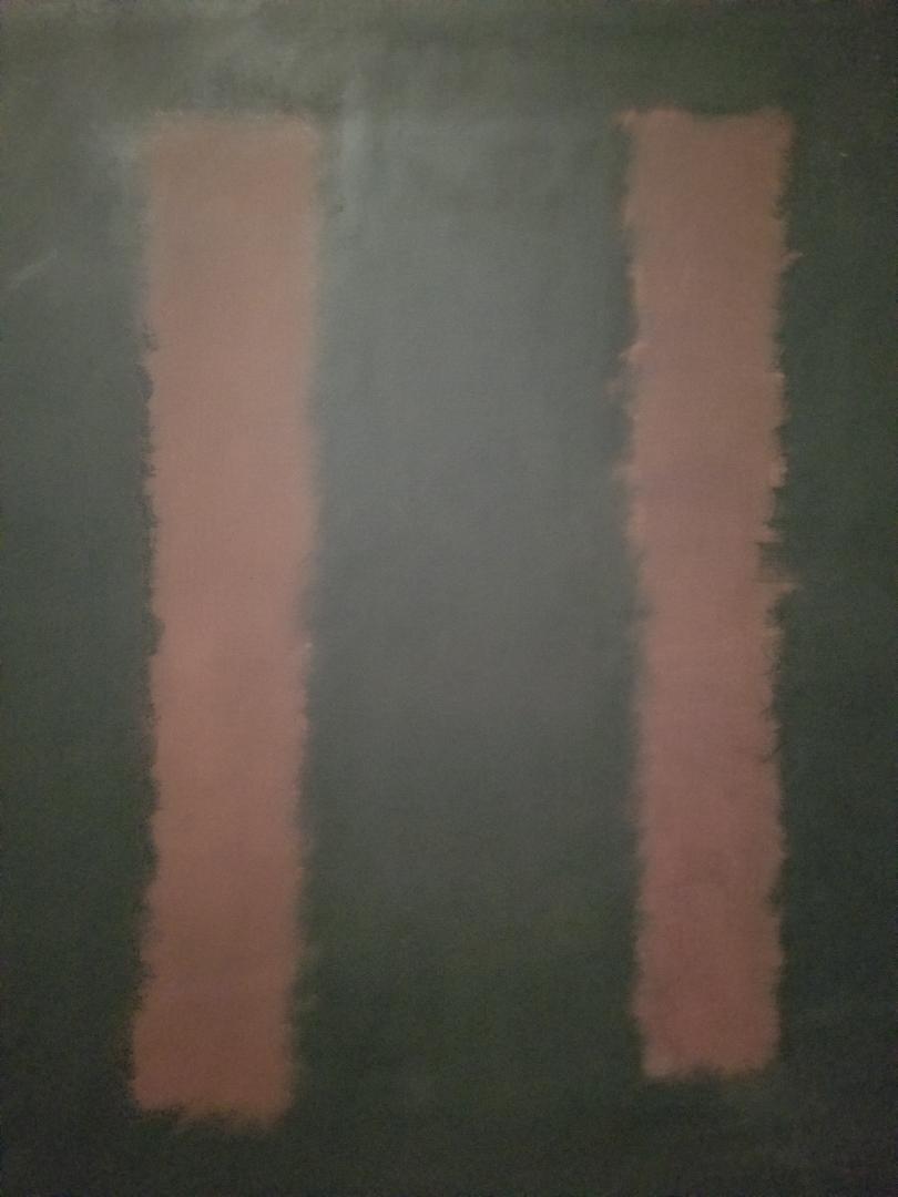 Rothko art. Dark. Simple. Cool.