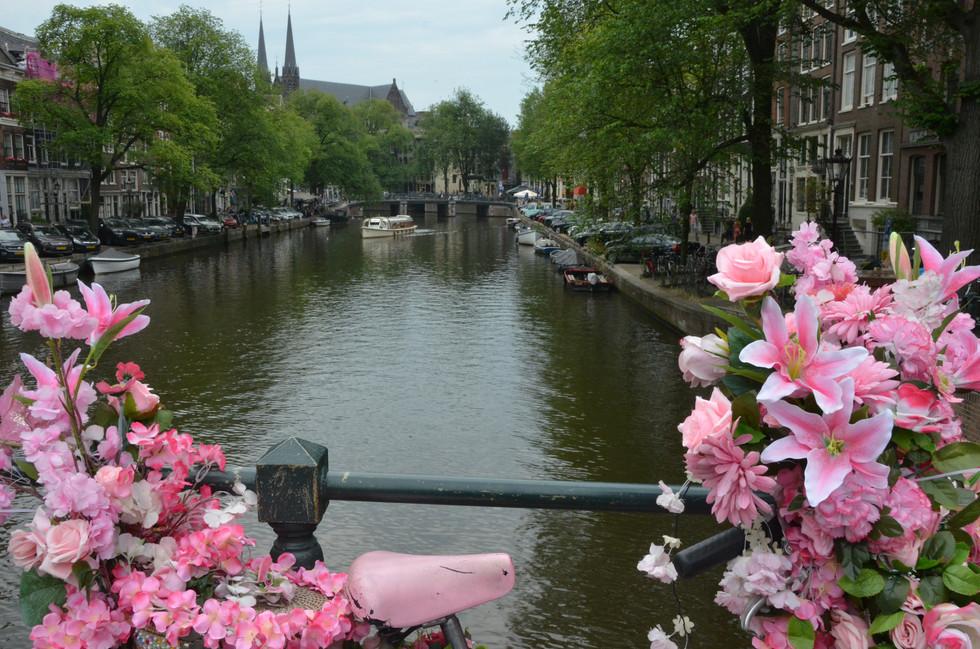 Hot damn - we're in Amsterdam!