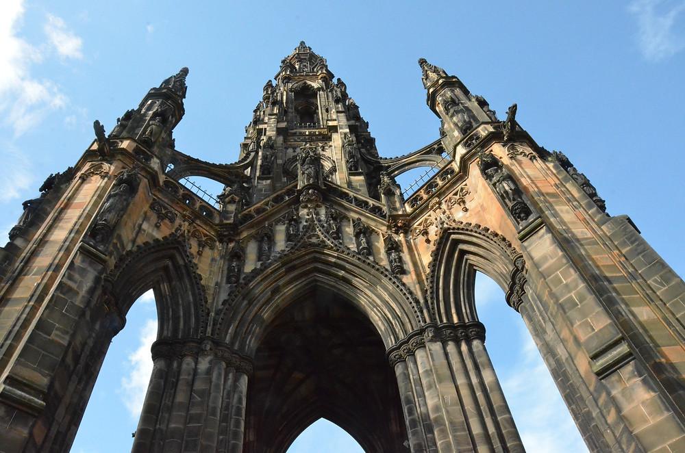 Walter Scott Memorial, Edinburgh