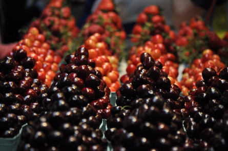 Granville Island Cherries, Vancouver