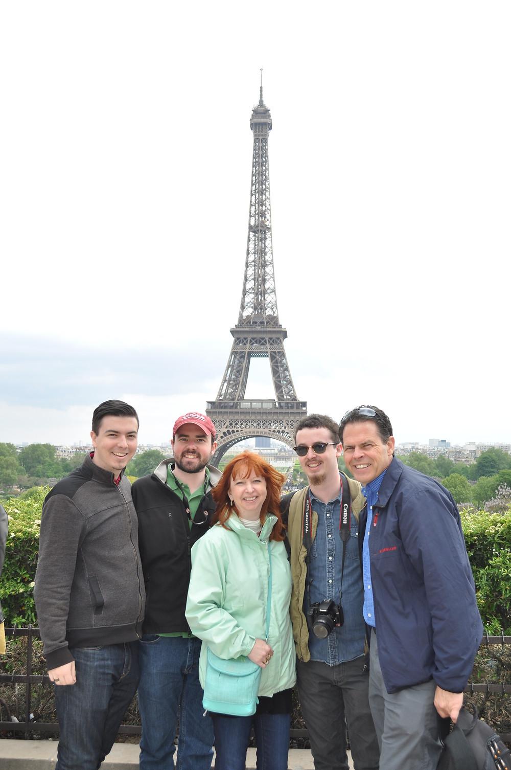 Reunion in Paris