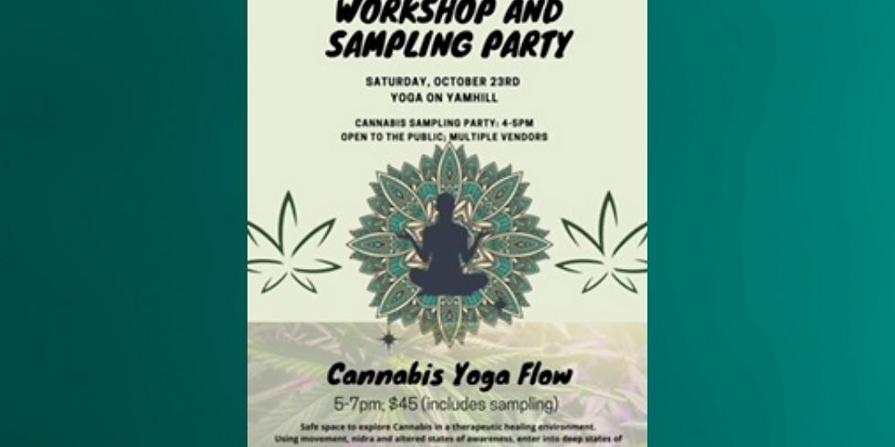 Cannabis Yoga Flow & Product Sampling