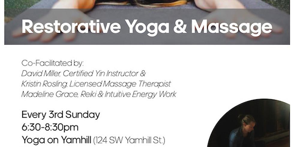 Restorative Yoga & Massage