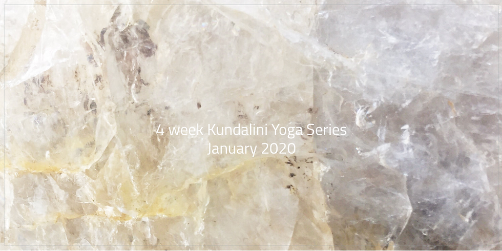 Staying Centered in a World of Chaos - 4 week Kundalini Yoga Series
