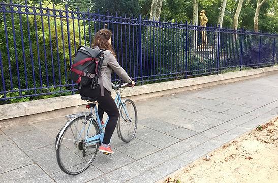 Along, sac à dos urbain professionnel voyage sport vélo mains libres pratique