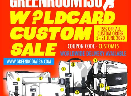 W?ldcard Custom sale June 2020