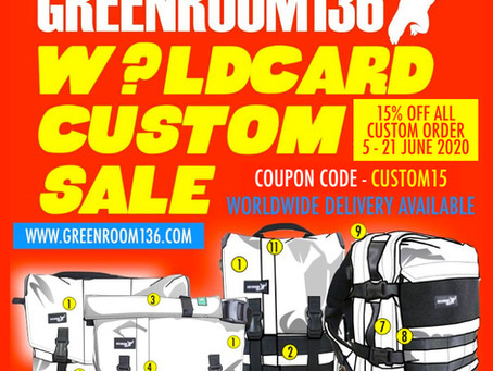 W?ldcard Custom sale June 2020