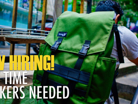 We're hiring part-timers!