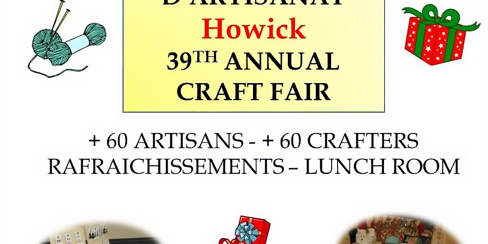 39th Annual Howick Craft Fair