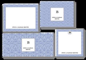 Blue China 4 Set
