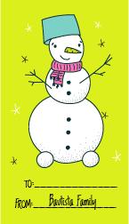 WRP 20 GC Snowman