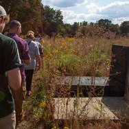 Searching for the grave of Szymon Zmidek