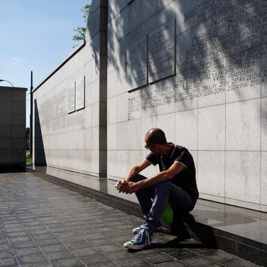 Marq the Umschlagplatz memorial