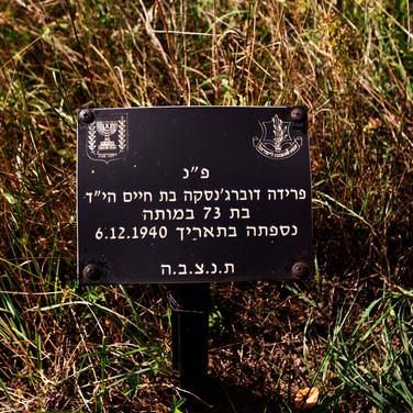 A grave in the Ghetto Field