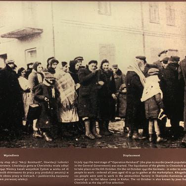 Liquidation of the ghetto in Chmielnik, 1st October, 1942
