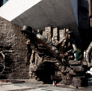 Memorial commemorating the fighters of the Warsaw  Uprising