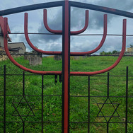 Gates to the Jewish cemetery