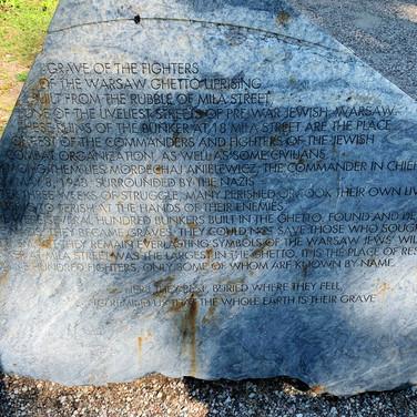 Mila 18 memorial