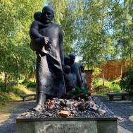Memorial to Janusz Korczak at Okopowa cemetery