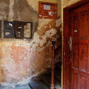 Interior of the original ghetto building