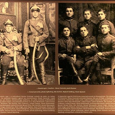 Chmielnik residents who joined the Polish army