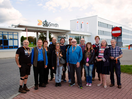 Tuesday, September 3: Kielce, Polish HQ of DS Smith