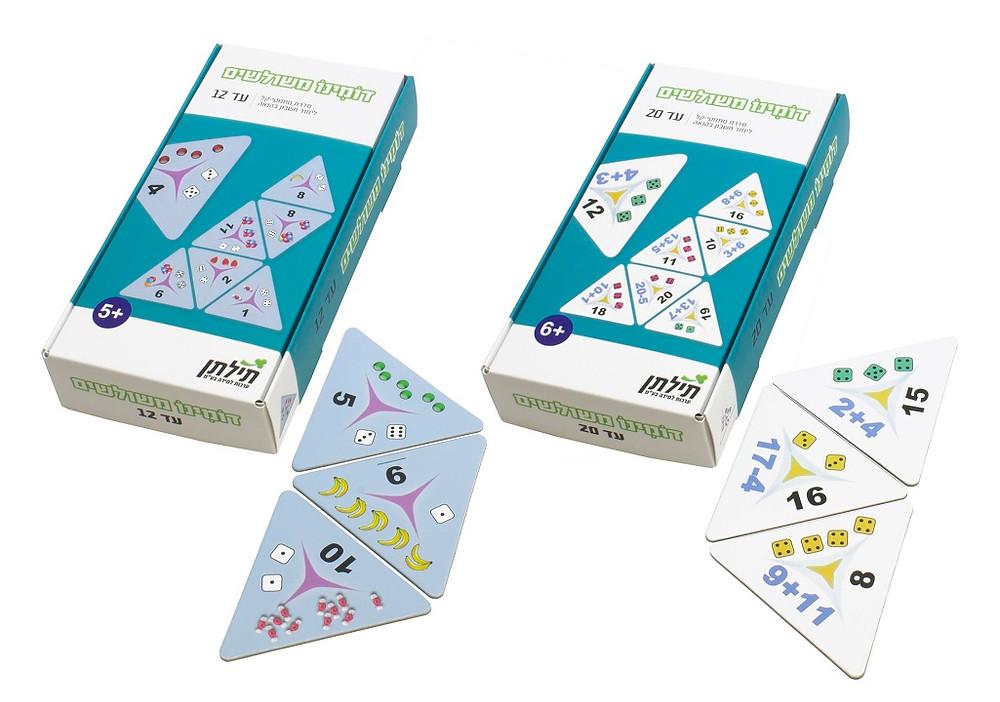 Tiltan Learning Kits: Triangular Dominos