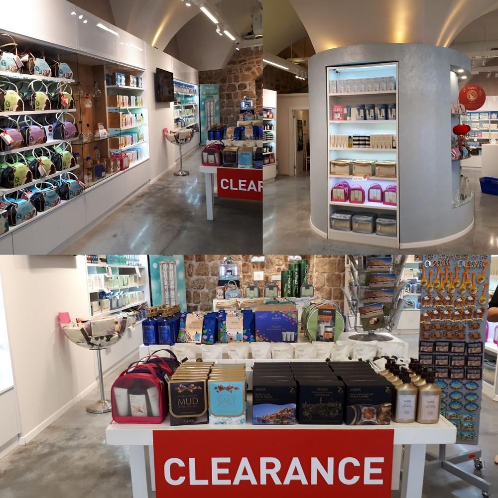 Acre Akko Ahava Dead Sea Laboratories Shop