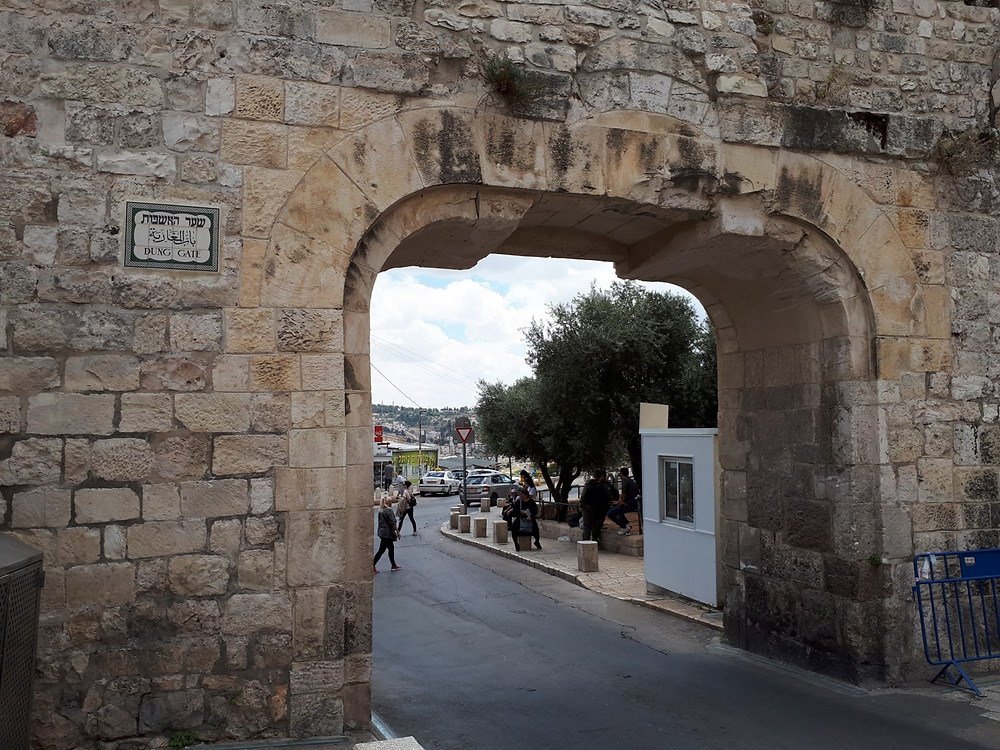 The Dung Gate, Jerusalem