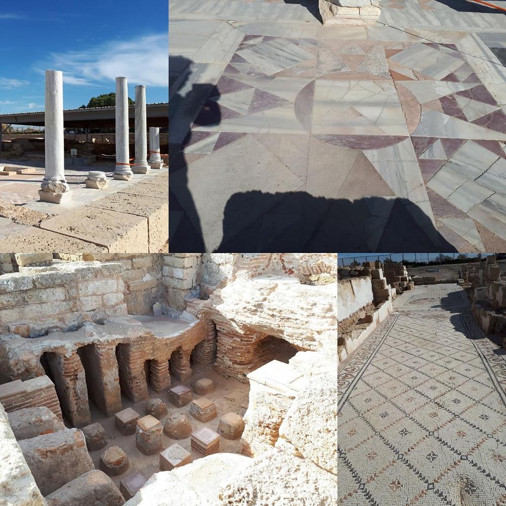 Cesarea National Park, Roman Bathhouse