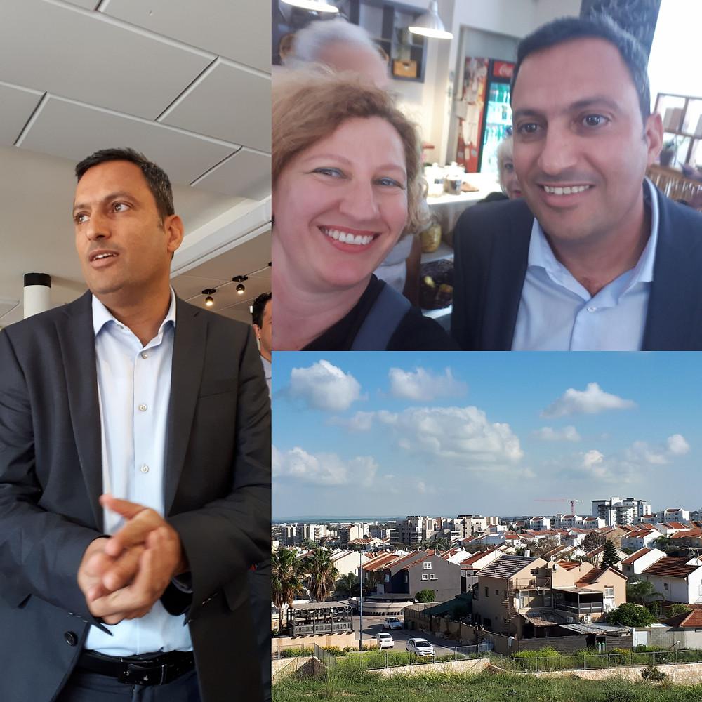 Alon Davidi Mayor of Sderot