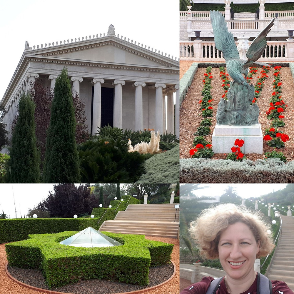 Baha'i Gardens and Golden Dome, Haifa