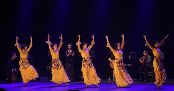 "Tel-Aviv: The Remangar Flamenco Troupe's ""Temblor"""
