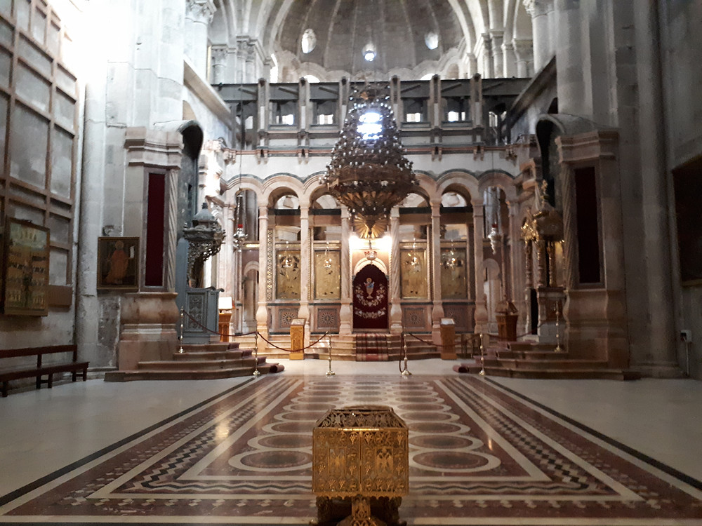Catholicon, The Church of the Holy Sepulchre, Jerusalem