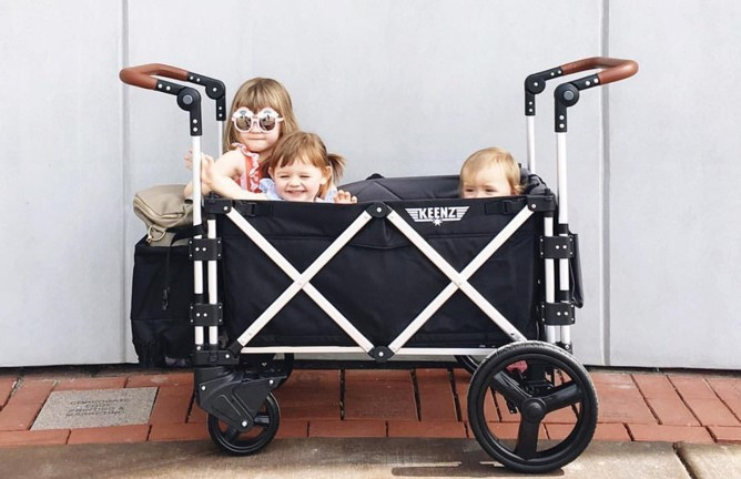 Keenz 7S, the first folding stroller by Audiocare