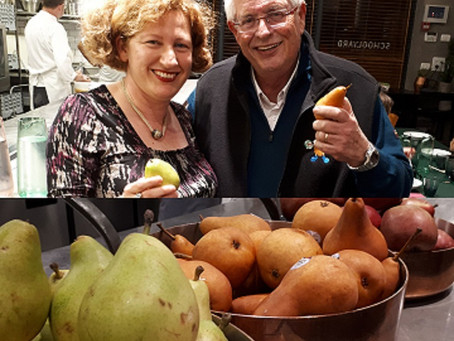 A Merry Pear Party for Tu Bishvat