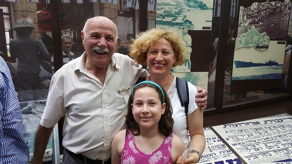 Etzel Museum Beit Gidi with Yosef Nachmias