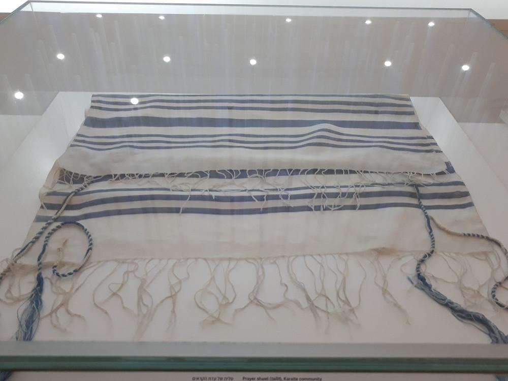 Bible Lands Museum Jerusalem, Out of the Blue, Tzitzit