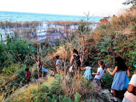 Sukkot at the Sea of Galilee 2021