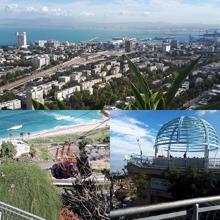 Cable Car View, Haifa