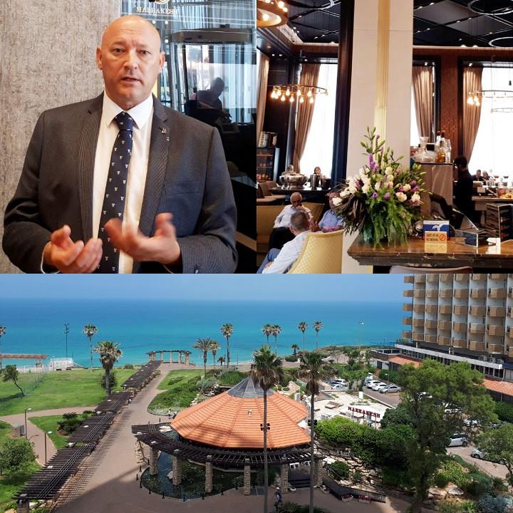 Danny Ronen, CEO, David Tower Hotel, Netanya