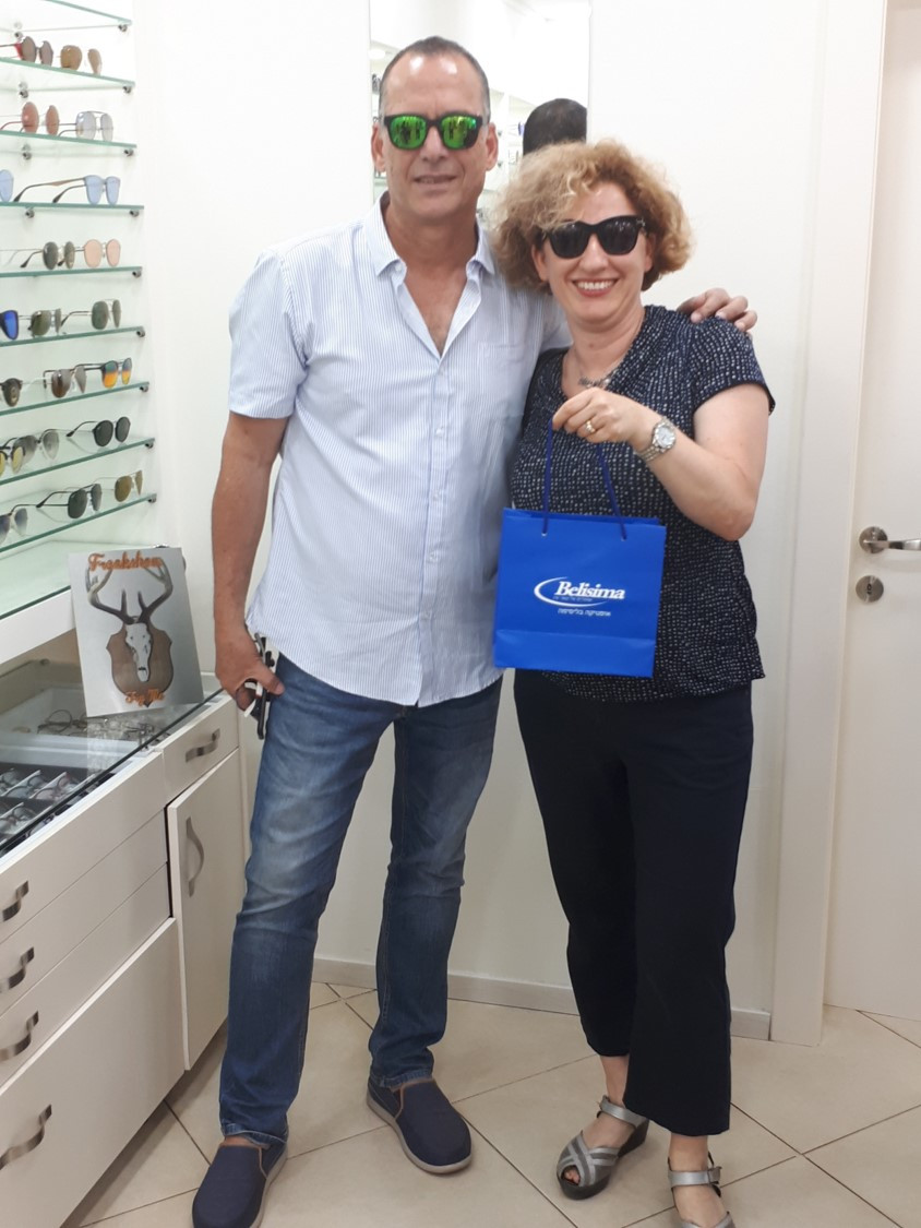 Optica Belisima Owner David Lazar