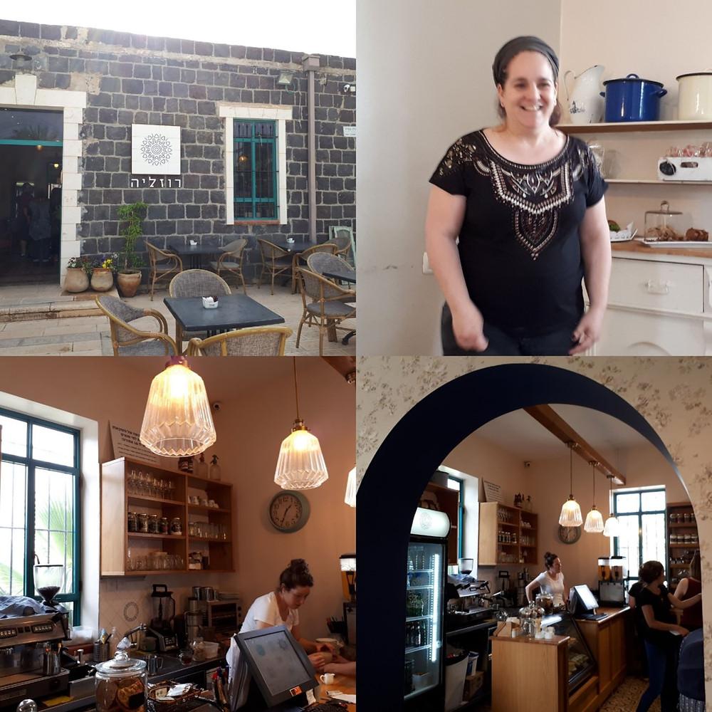 Beit She'an Rozalia Cafe