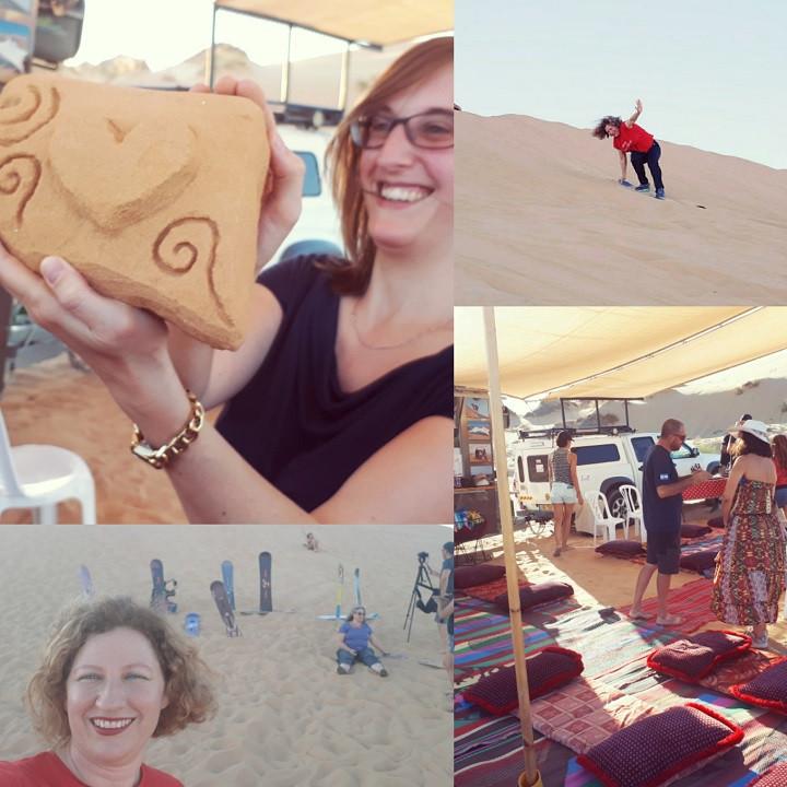 Dror BaMidbar Sandsurfing
