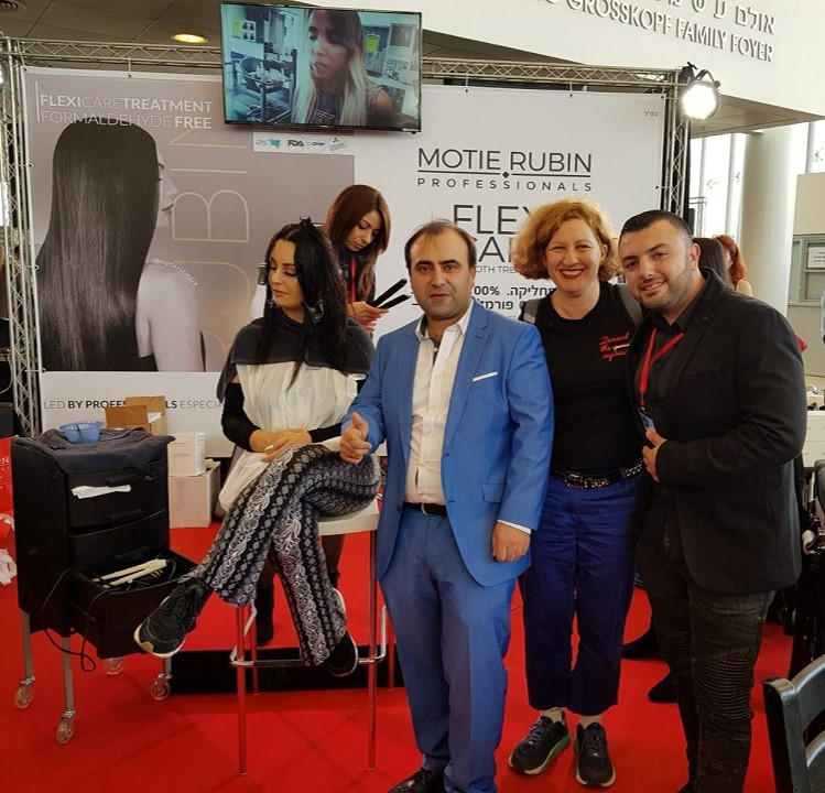 Cosmobeauty 2019 Israel Cup for Hair, Nail Art and Make-Up and Barber Battle Israel, Motie Rubin Academy